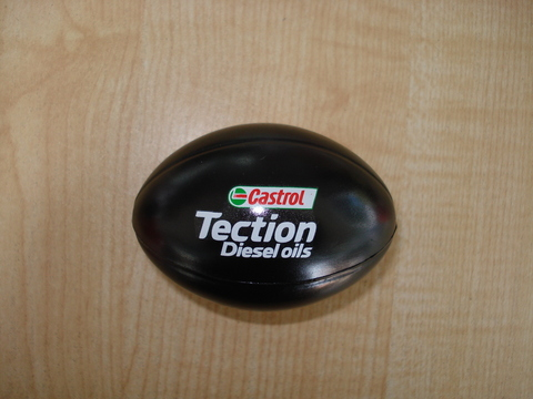 Castrol Stress Rugby Ball