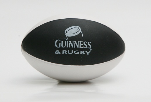 Guiness World Cup Stress Rugby Ball